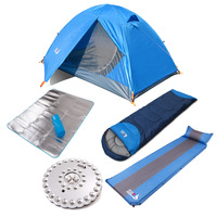 Single tent bundle double layer tent field bundle 5 piece set