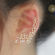Autumn 2014 accessories nauseating water small flower stud earring clip
