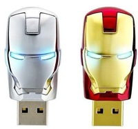 love Gift Cartoon Iron man mark 42 512GB USB2.0 Full flash drive Memory Stick pen drive usb flash drive