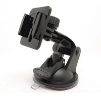 Outdoor Car Camera Fixing Holder w/ Suction Cup for Gopro / SupTig - Black  Free Shipping