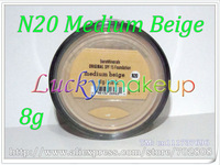 1pcs N20 MEDIUM BEIGE Original Loose Powder Bare Minerals BareMinerals Sunscreen Foundation Spf  15 Foundation 0.28oz Click/Lock