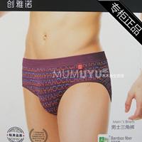 9866 trigonometric male bamboo fibre panties