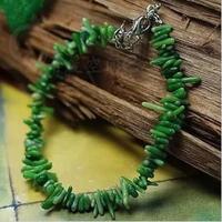Bohemia small fresh unique coral bracelet broken green whole net