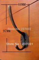 Antique  / alloy hook / coat hooks / cabinet hook / bronze hook 97 * 60MM
