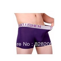Free shipping 2013 High Quality men's Underwear Bamboo Fiber boxers Sexy boxers For men