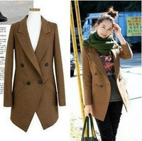 2012 spring fashion series brief slim woolen suit woolen short jacket