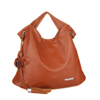 Free ship 2013 a soft leather elegant one shoulder cross-body women's handbag