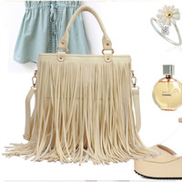 2013 autumn bags new arrival tassel bag han personality element women's handbag