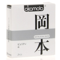 Okamoto limit ultra-thin pure 3 condoms condom adult supplies combination set