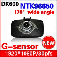 "Super Night Vision Car DVR Recorder Original DK600 with Novatek 96650 + WDR + H.264 + 1080P 30FPS + G-Sensor + 2.7"" LCD !"