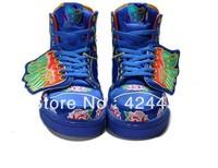 Free shipping Man & Women Jeremy Scott Wings Shoes embroidery jeremy scott wings sneakers embroidery js wings shoes AD29