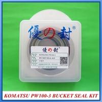 EXCAVATOR PW100-3  CYLINDER SEAL KIT , KOMATSU BUCKET SEAL KIT