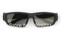Free shipping 10pcs/lot New 3D glasses Polarized 3D glasses computer 3D TV