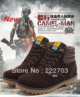 brand pu leather fashion boot for mens shoes martins big size 9 lace up platform black brown new 2013 martin winter boots men
