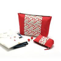 Free shipping! 2013 high quality  fashion lady organizer bags mutlifuntional cosmetic storage clutch bag women's handbag