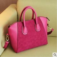 Fashion bag trend 2013 women's handbag scrub bags smiley bag messenger shoulder bag handbag free shipping