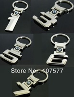 Mix Order Metal BM 1 3 5 6 7 Series Keychain Keyring For Car Auto Key Chain Ring Emblem Miss Cherry