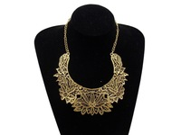 New Layered Bohemian Tassels Fringe Drop Vintage Gold Choker Chain Neon Bib Statement Necklace Fashion Jewelry For Women