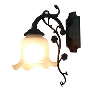 Fashion wall lamp mirror light bed-lighting lamp iron lamp rustic brief lamps b1-009