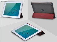 REMAX Brand  Ultra Thin Hard Back Case Protector + Smart Cover Stand for iPad 2. 3 & 4 Free Shipping