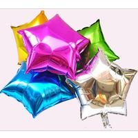 10 18 five-pointed star aluminum balloon aluminum foil balloon decoration balloon aluminum balloon