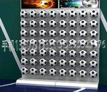 basketball display stand/sport shop display fixture shopfitting display shelf display racks