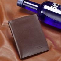 Male wallet 2013 men's wallet male genuine leather short design leather wallet