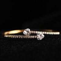 Selling High Quality Bracelet Hot Sale Zirconia Heart Bracelets For Girl Hand Chain Pulseira  Freeship Wholesale