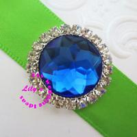 22mm round shape acrylic rhinestone embellishment, diamante rhineston embellishmen cluster, 150pcs/lot