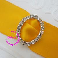 24*20mm small oval rhinestone ribbon slider, small rhinestone buckle for wedding invitions,DIY wedding supply,150pcs/lot