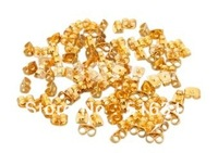 1000pcs/6.55USD Gold Earring Backs Replacement Backs for Pierced Ears Stopper clutches /earring post  Free Shipping