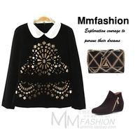 Fashion small ladies t-shirt sweatshirt autumn and winter women
