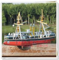 Sino-Japanese War model building kits China names ship Uss be far creative diy handmade 3D puzzle paper model