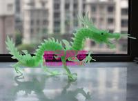 Luminous 3diy 3d puzzle toy animal model of jade dragon lucky - sd-007 luminous