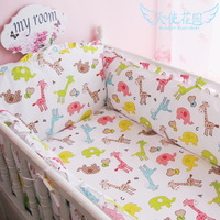 Baby bedding kit piece set 100% cotton crib bedding package