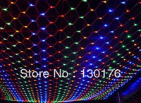 320 3 meters mesh christmas decoration led lights net lights lantern flasher lamp set multicolour 3 2 meters net lights