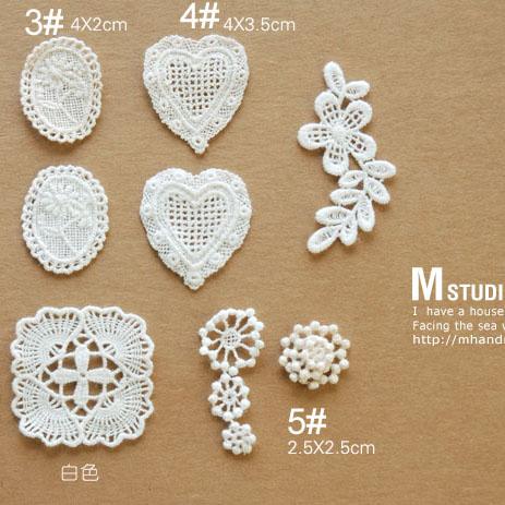 Zakka 100% cotton lace motif fresh hand for series a1(China (Mainland))