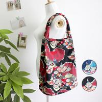 Endulge national trend vintage women's shoulder bag fabric bags small fresh cotton