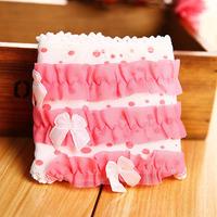 4341 Min order $10 (mix order) free shipping Fashion princess breifs three layer sweet lace panties cute dot cake shaped shorts