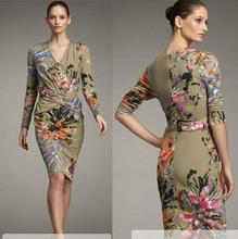 cheap silk jersey dress
