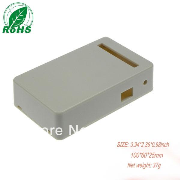 Xindasz XDI02-8 small hinged plastic boxes custom plastic enclosure 3.94*2.36*0.98inch(100*60*25mm)(China (Mainland))