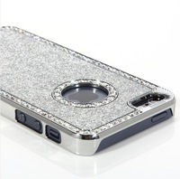 Super Luxury Sparkling Bling Bling Fashion Diamond Case for iPhone 5 5G free shipping