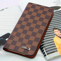 Wallet male long design small clutch genuine leather day clutch long design male clutch