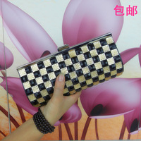 Clutch 2013 female clutch bag women's handbag diamond day clutch with diamond rhinestone chain one shoulder small bag mini