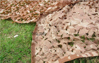 "Military Desert Camouflage Net Woodlands Leaves Camo 39*39"" 1x1M"