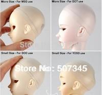 Free shipping 5 pcs/lot New 1/3  1/4   1/6  1/8 1/12  BJD Head Soft Silicone bjd Wig Cap MSD Dollfie BJD wig