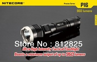 1PC Nitecore P16 Flashlight Cree XM-L2 T6 LED 960LM High Bright Torch Waterproof IPX-8 by 1*18650 Battery