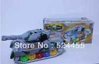Free shipping Charging large tank car model Chinese master tank can battle children toy tank car