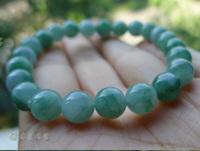 Natural Jadeite jade violet a cargo floating flower bracelet
