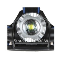 1Set HL1200 Headlamp 1200Lumen CREE xml t6 LED HeadLight 3Mode Waterproof Headlamp ZOOMABLE Hiking Headlight